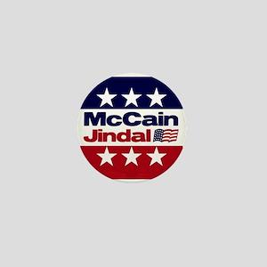 McCain Jindal Mini Button