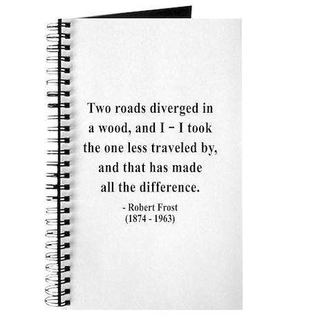 Robert Frost 1 Journal