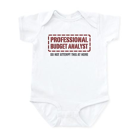 Professional Budget Analyst Infant Bodysuit