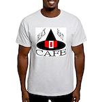 Black Hat Cafe Ash Grey T-Shirt