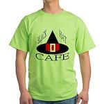 Black Hat Cafe Green T-Shirt