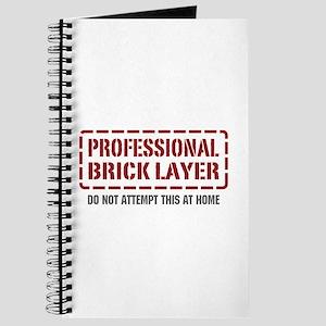 Professional Brick Layer Journal