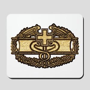 Combat Medic(gold) Mousepad