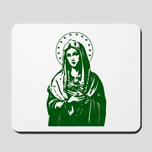 Green Scapular Mousepad