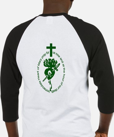 Green Scapular Baseball Jersey (2-sided)