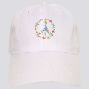 Abstract Art Peace Sign Cap