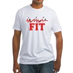 Fitness and Exercise Fitted T-Shirt