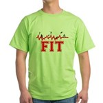 Fitness and Exercise Green T-Shirt