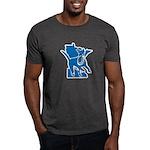 MNCLUB Alone logo Dark T-Shirt