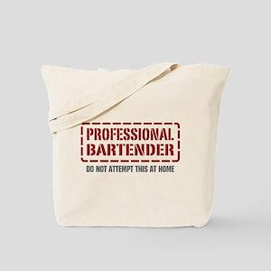 Professional Bartender Tote Bag