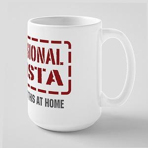 Professional Barista Large Mug