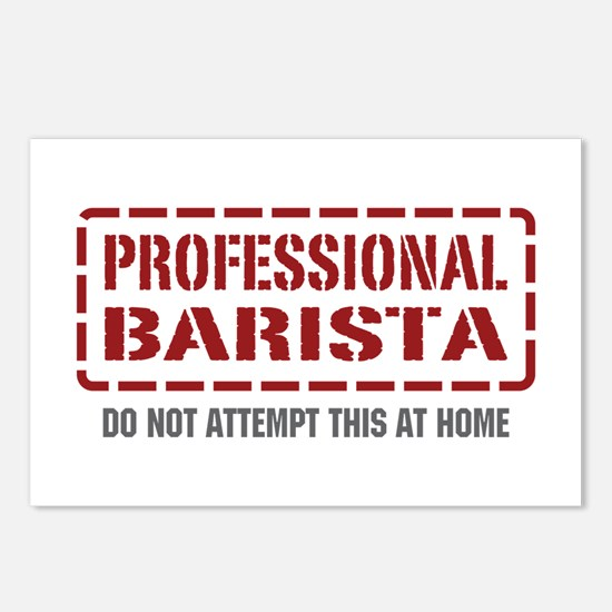Professional Barista Postcards (Package of 8)