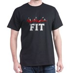 Fitness and Exercise Dark T-Shirt