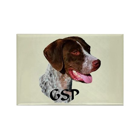 German Shorthaired Pointer Rectangle Magnet (100 p