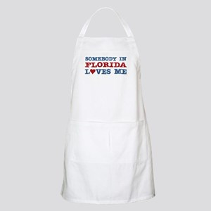 Somebody in Florida Loves Me BBQ Apron