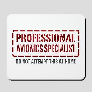 Professional Avionics Specialist Mousepad