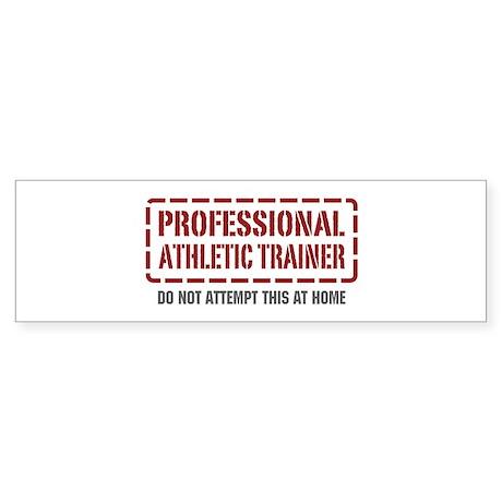 Professional Athletic Trainer Bumper Sticker
