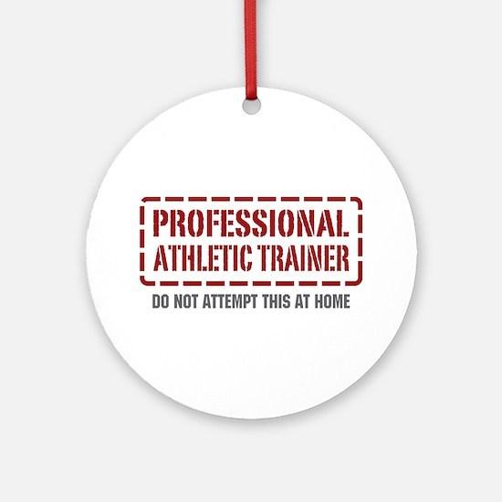 Professional Athletic Trainer Ornament (Round)