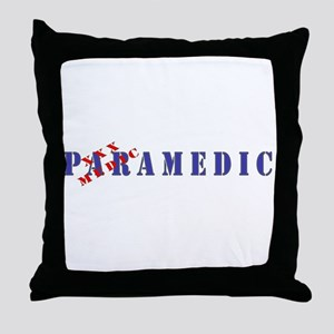 Paramedic Throw Pillow