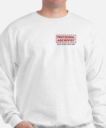 Professional Archivist Sweatshirt