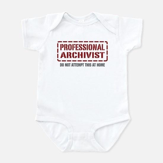 Professional Archivist Infant Bodysuit
