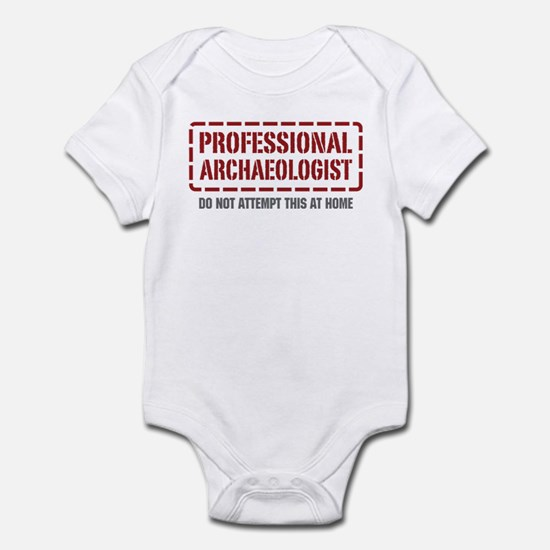 Professional Archaeologist Infant Bodysuit