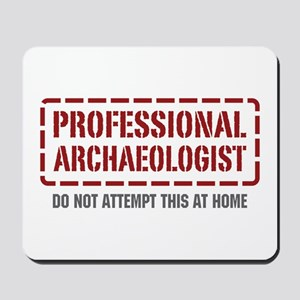 Professional Archaeologist Mousepad