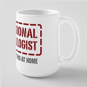 Professional Archaeologist Large Mug