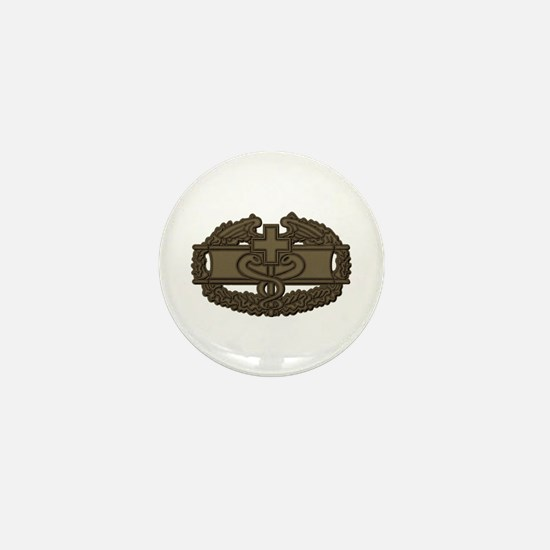 Combat Medic OD Mini Button