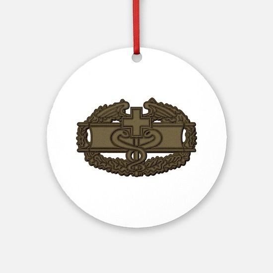 Combat Medic OD Ornament (Round)
