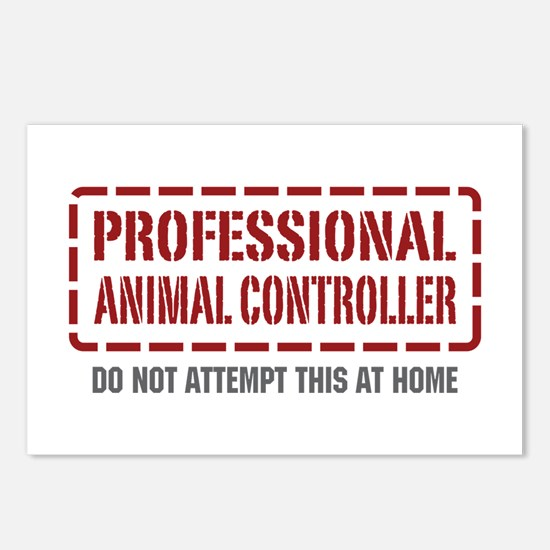 Professional Animal Controller Postcards (Package