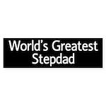 World's Greatest Stepdad Bumper Sticker (10 pk)