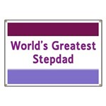 World's Greatest Stepdad Banner