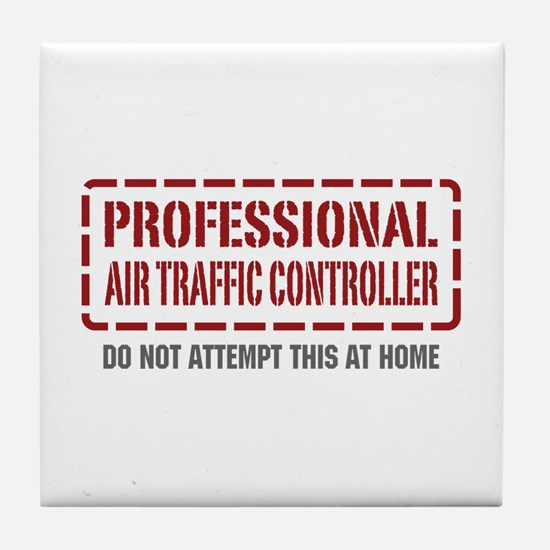 Professional Air Traffic Controller Tile Coaster