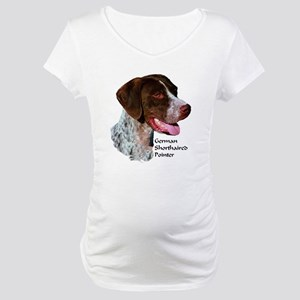 German Shorthaired Pointer Maternity T-Shirt