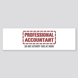 Professional Accountant Bumper Sticker