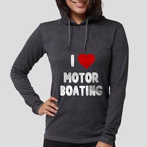 I Love Motor Boating Long Sleeve T-Shirt