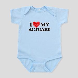 I Love my Actuary Body Suit