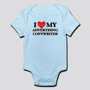 I Love my Advertising Copywriter Body Suit