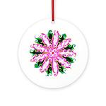Curly Flower Keepsake (Round)