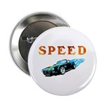 """Speed Cars 2.25"""" Button (10 pack)"""