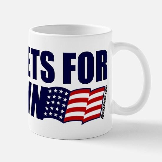 Navy Vets for McCain Mug
