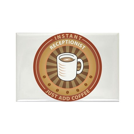 Instant Receptionist Rectangle Magnet (10 pack)