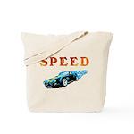 Speed Cars Tote Bag