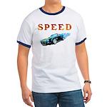 Speed Cars Ringer T T-Shirt