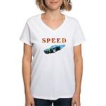 Speed Cars Women's V-Neck T-Shirt