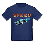 Speed Cars Kids Dark T-Shirt
