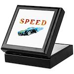 Speed Cars Keepsake Box