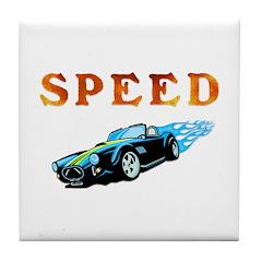 Speed Cars Tile Coaster