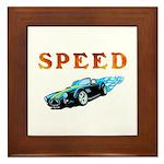 Speed Cars Framed Tile